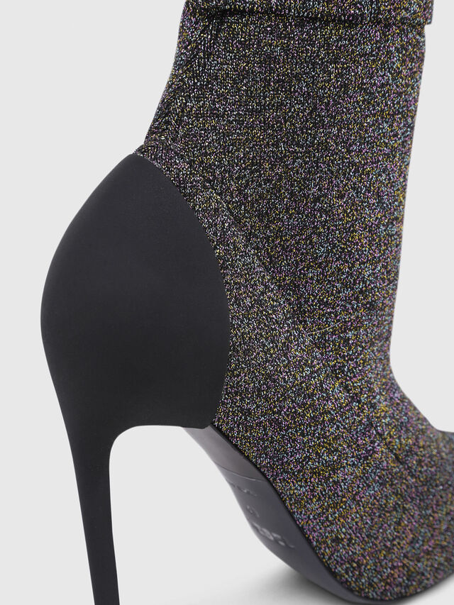 Diesel - D-SLANTY HASM, Multicolor/Black - Ankle Boots - Image 5