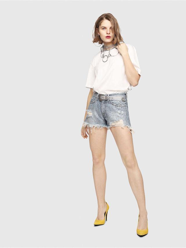 Diesel - DE-RIFTY-S, Blue Jeans - Shorts - Image 7