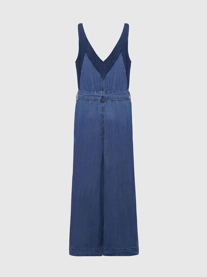 Diesel - DE-LORYNA, Medium blue - Jumpsuits - Image 2