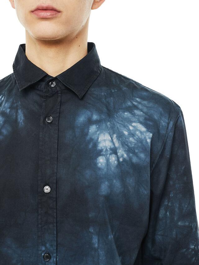 Diesel - SAMOUT, Black/Blue - Shirts - Image 3