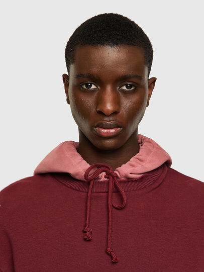 Diesel - S-CRAZY-B1, Red/Pink - Sweaters - Image 4