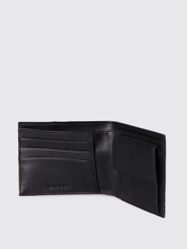 Diesel HIRESH S, Blue Jeans - Small Wallets - Image 3