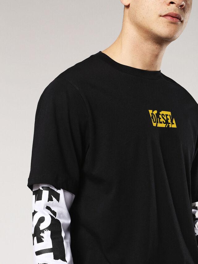 T-SHOOT-SA, Black