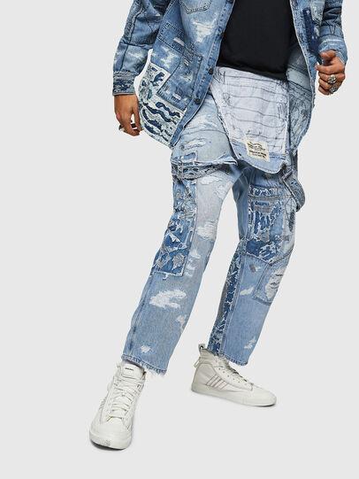 Diesel - D-HARU-SY, Blue Jeans - Jumpsuits - Image 4