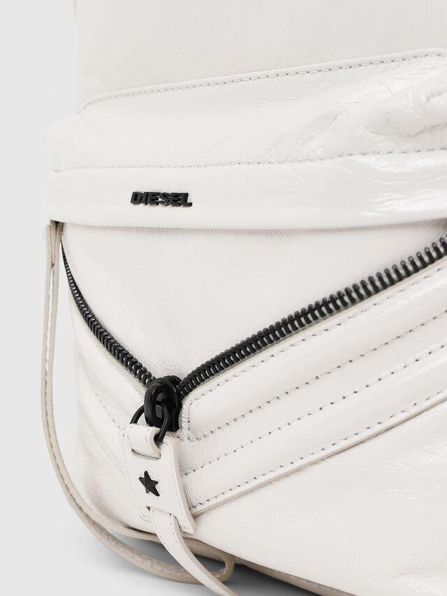Diesel - LE-ZIPPER BACKPACK, White - Backpacks - Image 3