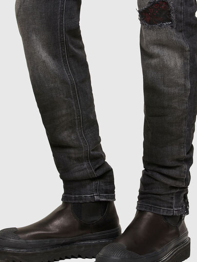 Diesel - Sleenker 009JN, Black/Dark grey - Jeans - Image 5