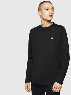 T-JUSTY-LS, Black - T-Shirts