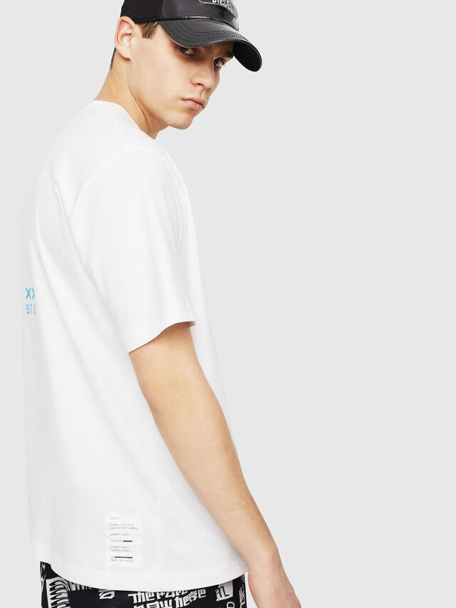 Diesel - T-JUST-Y23, White - T-Shirts - Image 3