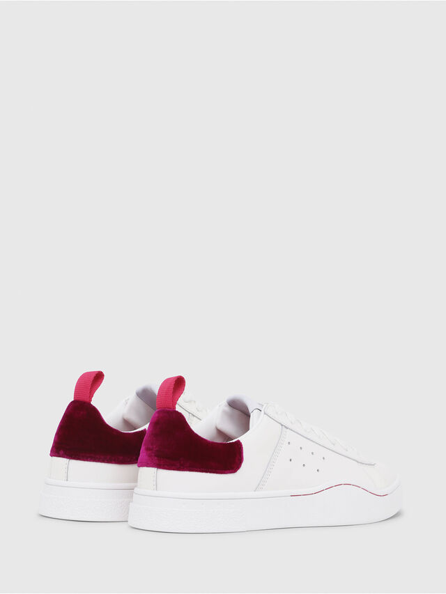 Diesel - S-CLEVER LOW W, White/Red - Sneakers - Image 3