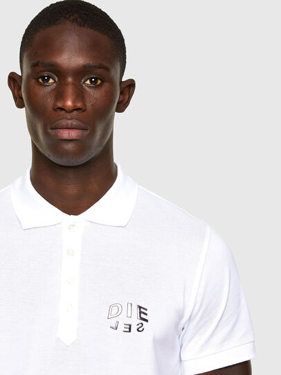 Diesel - T-RANDY-NEW-A2, White - Polos - Image 2