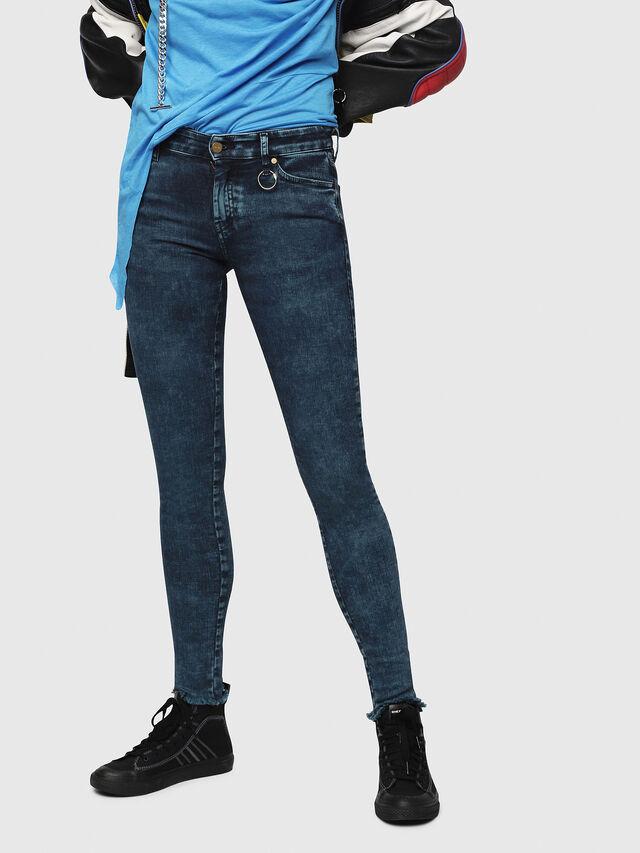 Diesel - Slandy 069DC, Dark Blue - Jeans - Image 1