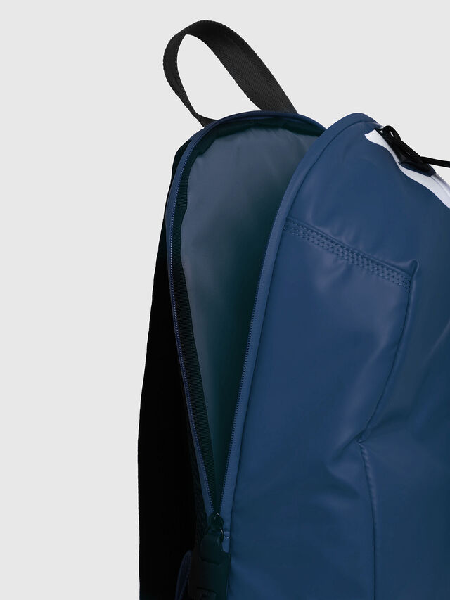 Diesel - F-BOLD BACK, Blue/White - Backpacks - Image 3
