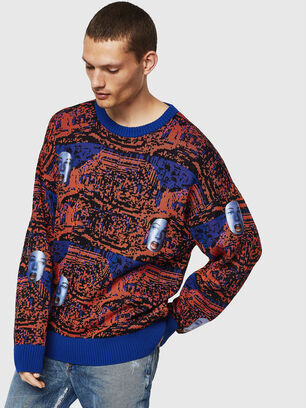 K-FACE, Red/Blue - Knitwear