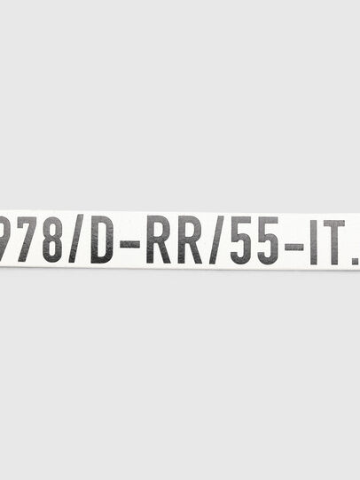 Diesel - B-ARBARANO II, White/Black - Belts - Image 4