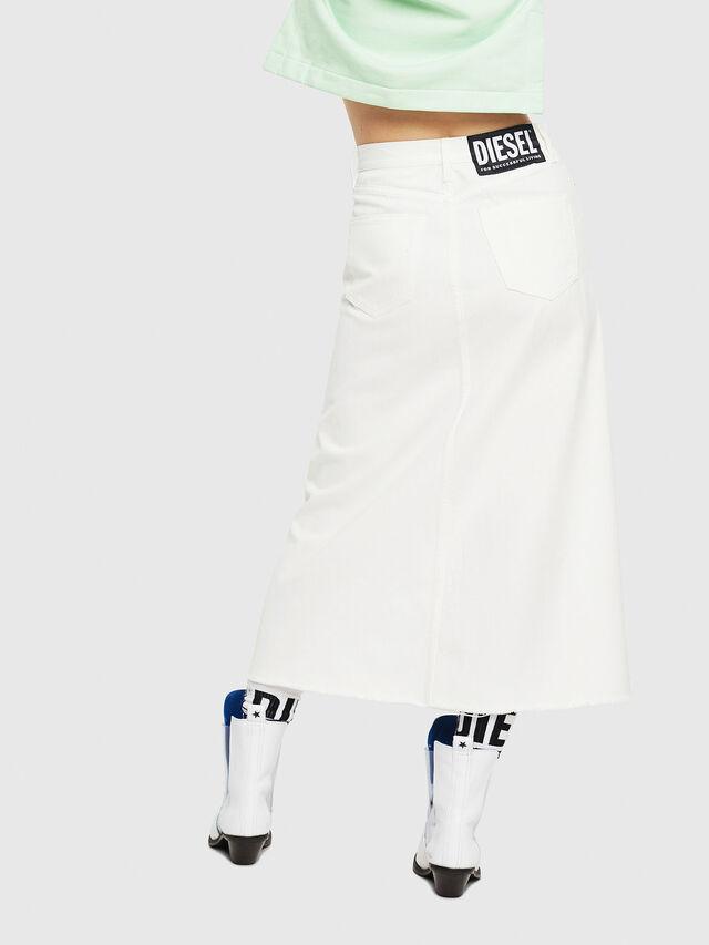 Diesel - DE-VYVIEN, White - Skirts - Image 2