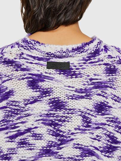 Diesel - M-HEATH, Violet/White - Knitwear - Image 4