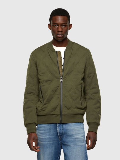 Diesel - K-CHRYSO, Military Green - Knitwear - Image 1