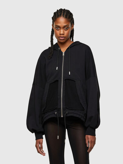 Diesel - F-BILLY-LOGO, Black - Sweaters - Image 1