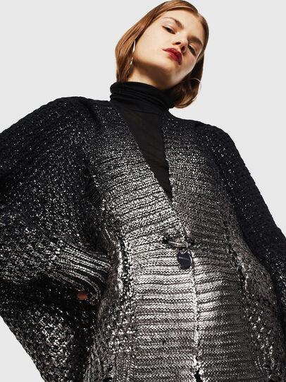 Diesel - M-MIKO, Black/Silver - Knitwear - Image 3