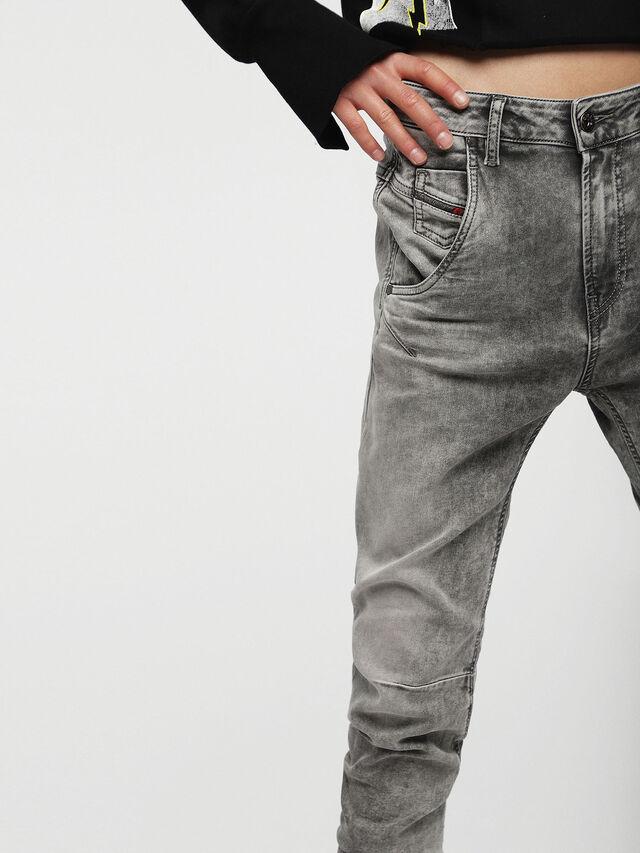 Diesel - Fayza JoggJeans 0855B, Light Grey - Jeans - Image 3