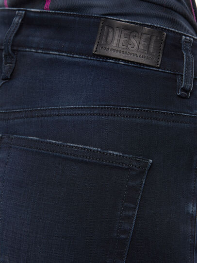 Diesel - Slandy High 009JG, Dark Blue - Jeans - Image 5