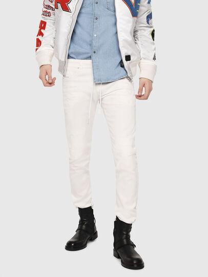 Diesel - Thommer JoggJeans 069DS, White - Jeans - Image 1