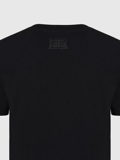 Diesel - T-SILY-E56, Black - T-Shirts - Image 3
