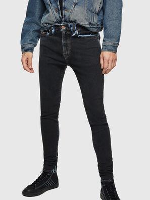 D-Istort 0094B, Dark Blue - Jeans