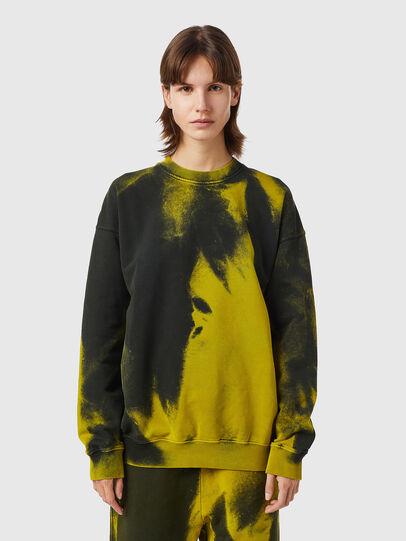 Diesel - S-MART-RIB, Yellow/Green - Sweaters - Image 2