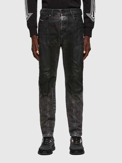 Diesel - D-Vider 009QZ, Black/Dark grey - Jeans - Image 1