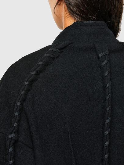 Diesel - W-LETHEA, Black - Winter Jackets - Image 3