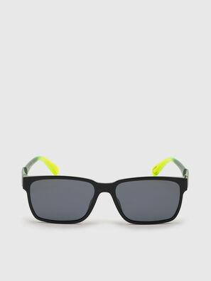 DL0327, Black/Yellow - Sunglasses