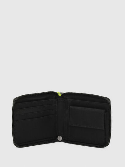 Diesel - ZIPPY HIRESH S II, Olive Green - Small Wallets - Image 3