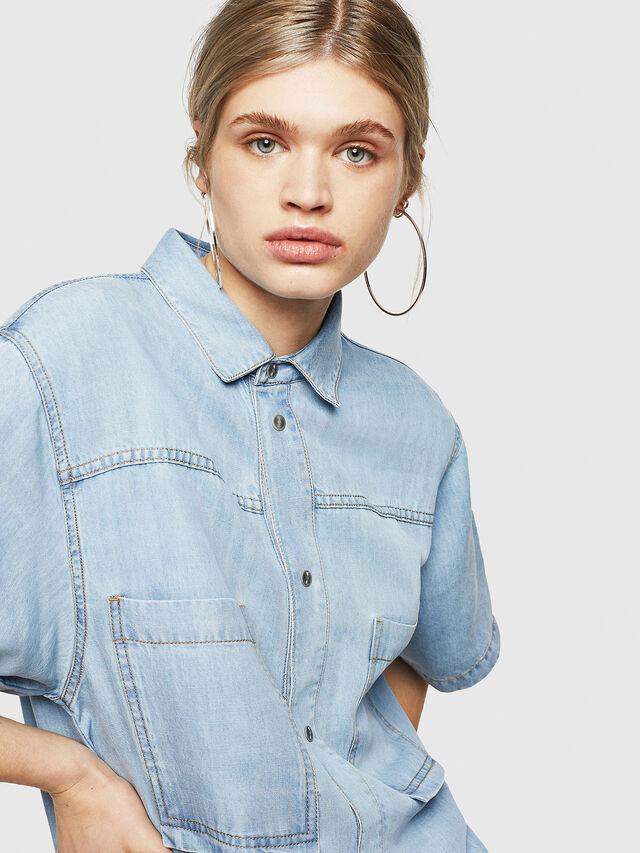 Diesel - DE-SUP-SL, Blue Jeans - Dresses - Image 3