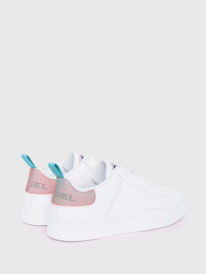 Diesel - S-CLEVER LOW LACE W, White/Blue - Sneakers - Image 3