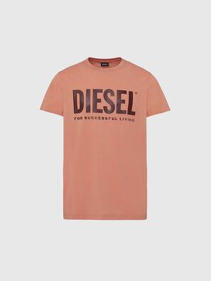 T-DIEGO-LOGO, Pink - T-Shirts