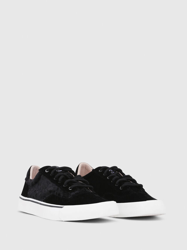 Diesel - S-FLIP LOW W, Black - Sneakers - Image 2