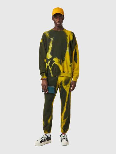 Diesel - S-MART-RIB, Yellow/Green - Sweaters - Image 7