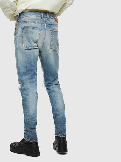Diesel - D-Vider 0097J, Light Blue - Jeans - Image 2