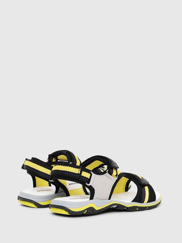 Diesel - SA 07 STRIPE CH, Gray/Black - Footwear - Image 3
