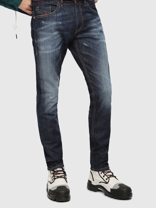 Diesel - Thommer 087AN, Dark Blue - Jeans - Image 1