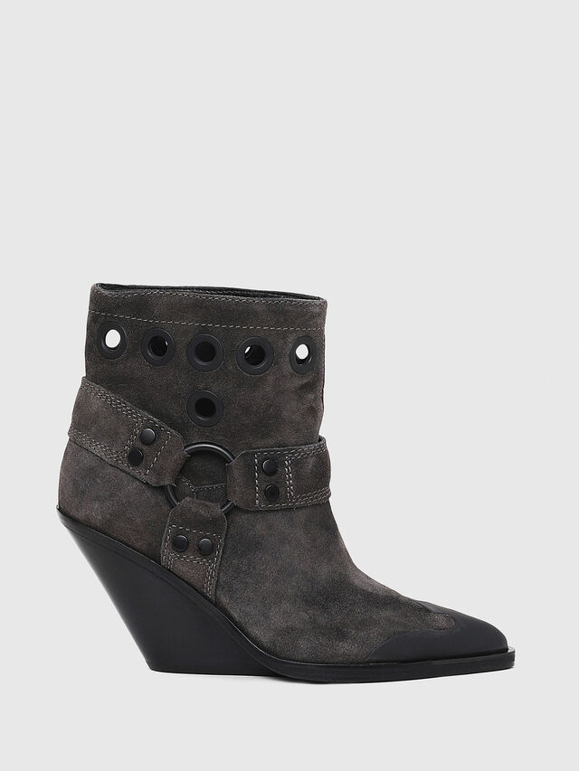 Diesel - D-WEST MBE, Black - Ankle Boots - Image 1