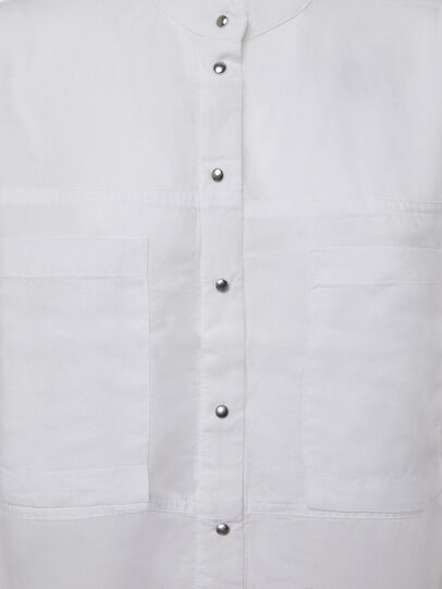Diesel - C-SUPER-E, White - Shirts - Image 5