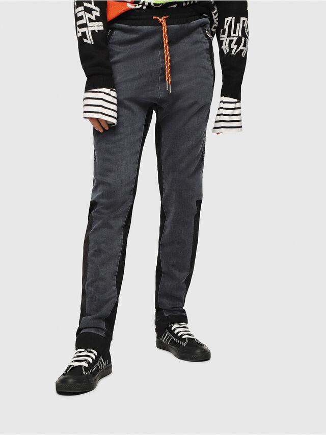 Diesel - D-Eeley JoggJeans 0LAUH, Black/Dark grey - Jeans - Image 1