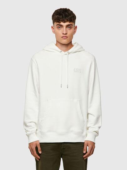 Diesel - S-GIRK-HOOD-C.C, White - Sweaters - Image 1