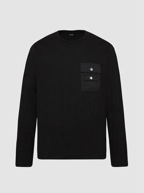 T-TASK-LS, Black - T-Shirts