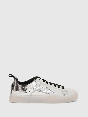 S-CLEVER LOW LACE W, Silver - Sneakers