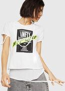 T-EMIKO-B, White - T-Shirts