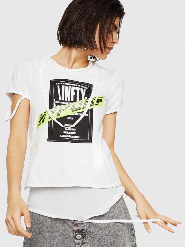 Diesel - T-EMIKO-B, White - T-Shirts - Image 1