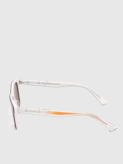 Diesel - DL0279, White/Orange - Sunglasses - Image 3